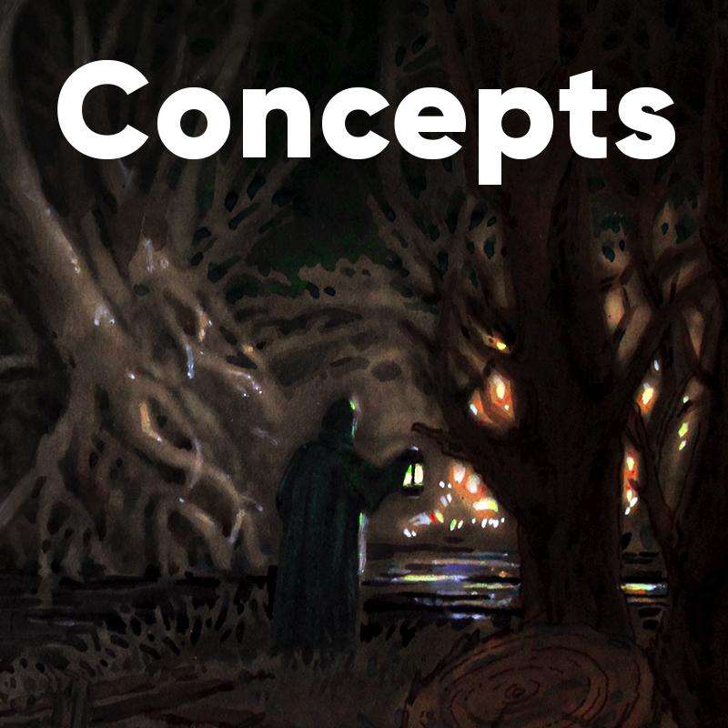 Movies concept art